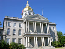 New Hampshire State House. State House of New Hampshire, Concord stock image