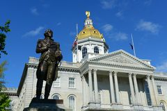 Free New Hampshire State House, Concord, NH, USA Stock Photos - 55624653