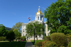 New Hampshire State House, Concord, NH, USA. New Hampshire State House, Concord, New Hampshire, USA. New Hampshire State House is the nation's oldest state house stock photo