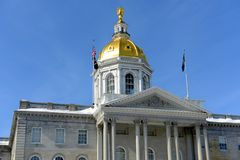 New Hampshire State House, Concord, NH, USA Stock Photos
