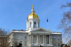 New Hampshire State House, Concord, NH, USA Stock Photography