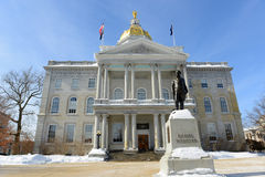 New Hampshire State House, Concord, NH, USA Stock Images