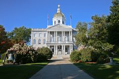 New Hampshire State House Royalty Free Stock Photo
