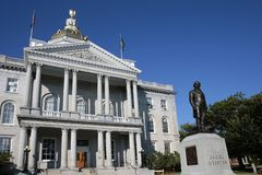 New Hampshire State House Stock Images