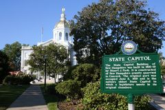 New Hampshire State House Royalty Free Stock Image