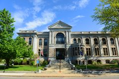 New Hampshire State Library Building, Concord, USA Royalty Free Stock Images