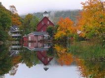 New-Hampshire Teich Stockfotografie