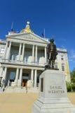 New Hampshire tillståndshus, harmoni, NH, USA Arkivfoto