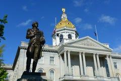 New Hampshire tillståndshus, harmoni, NH, USA Arkivfoton