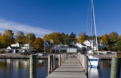 New Hampshire Town Stock Photography