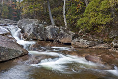 New Hampshire; White Mountains in autumn Stock Image