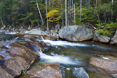 New Hampshire; White Mountains in autumn Stock Photography