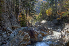 New Hampshire; White Mountains in autumn Royalty Free Stock Images