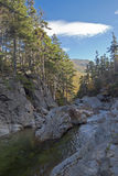 New Hampshire; White Mountains in autumn Stock Images
