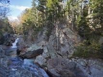 New Hampshire; White Mountains in autumn Stock Photo