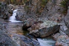 New Hampshire; White Mountains in autumn Royalty Free Stock Image