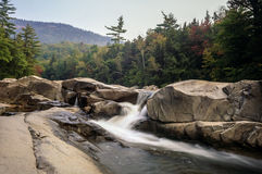New Hampshire; White Mountains in autumn Royalty Free Stock Photos