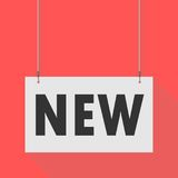 New Hanging Sign Stock Image