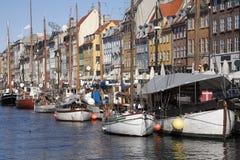 New Harbor - Nyhavn Stock Photography
