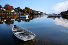 New Harbor, Pemaquid Point, Maine Stock Image