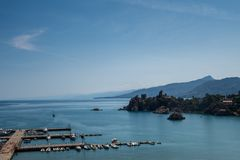 Harbour of Cefalu royalty free stock photography