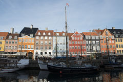 New Harbour (Nyhavn) Stock Images