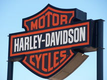 New Harley Store Royalty Free Stock Photography