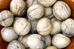 New harvest walnuts Stock Photos