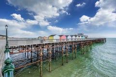 New Hastings Pier Stock Photo