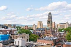 New-Haven, Connecticut Stadt-Skyline stockfoto
