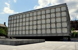 New Haven, CT: Biblioteca do livro raro & do manuscrito de Beinecke Fotografia de Stock