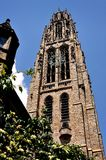 New Haven, CT: Harkness Tower at Yale University Royalty Free Stock Images