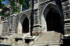 New Haven, CT: St. Mary`s Catholic Church Stock Photo