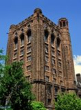 New Haven CT: Walesiska Hall på Yale University Royaltyfri Fotografi