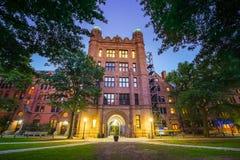 New Haven e Yale University do centro imagem de stock royalty free