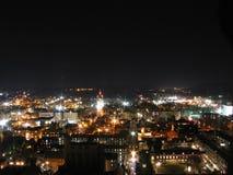 New Haven en la noche Foto de archivo libre de regalías