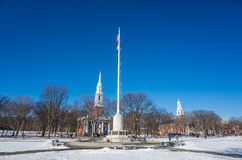 New Haven Green Royalty Free Stock Photo