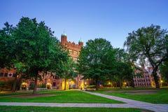 New Haven y Yale University céntricos Fotografía de archivo libre de regalías