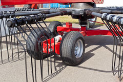New Hay Raker Farm Equipment Detail Stock Images
