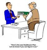 New Health Plan Stock Image