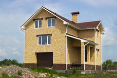 New high brick house Stock Images