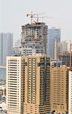 New high rise buildings. Under construction Stock Photo