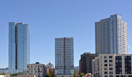 New high rises in Portland Oregon. Royalty Free Stock Photo