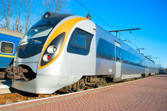 New high speed train Royalty Free Stock Image