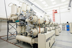 New high voltage transformer Stock Photography