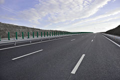 New Highway Royalty Free Stock Image