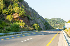 The new highway from the capital to the sea, Montenegro Stock Images