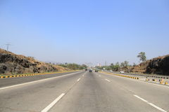 New Highway in India Stock Photography