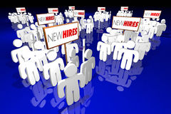 New Hires Employees Rookies Workers Staff Recruits Royalty Free Stock Photography