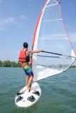 New hobby windsurfing Stock Photo